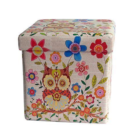 Childream Sova i cvetić tabure kutija 36cm x 36cm x 36cm ( 0181111 )