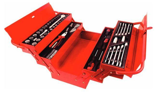 N/A set alata u metalnoj kutiji 80 komada ( 027621 )