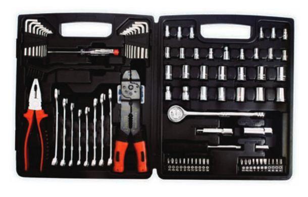 N/A set alata u plastičnoj kutiji 114 komada ( 027622 )