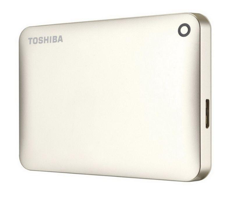 Toshiba 500GB Canvio Connec II 2.5 USB 3.0 saten zlatni ( HDTC805EC3AA )