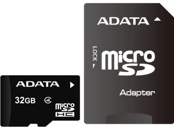 AData 16 GB MicroSD memorijska kartica sa SD adapterom ( AUSDH16GCL4-RA1 )