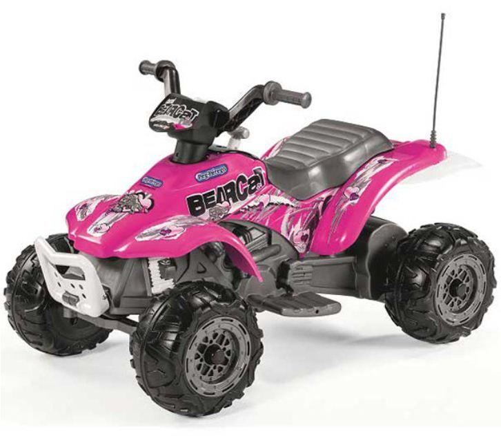 Peg Perego Corral bearcat 6v motocikl na akumulator sa 4 točka pink ( P315ED1166 )