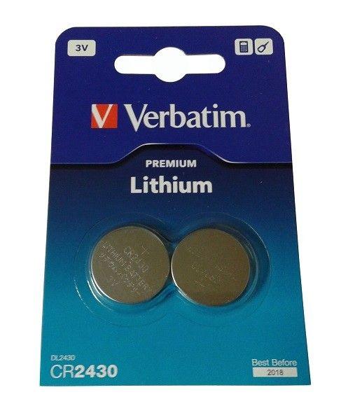 Verbatim CR2430 Litijumsaka baterija 2 komada 49937 ( CR2430V/Z )