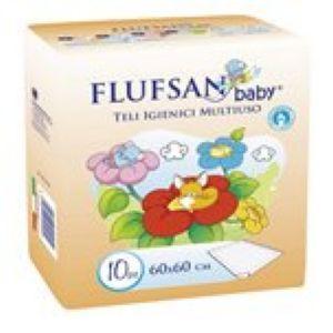 Flufsan baby nepromočivi podmetač 60 x 60 cm 10 komada ( 0310013 )