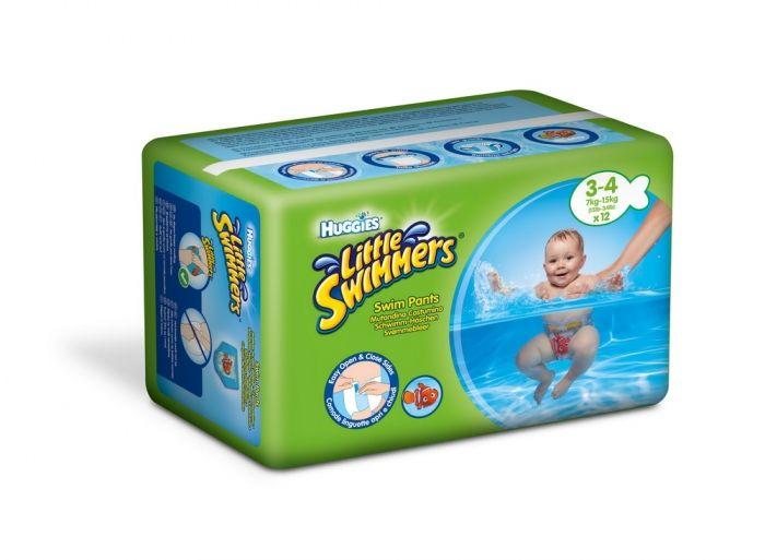 Huggies pelene za kupanje 3-4 7-15kg 12 komada ( 2150121 )