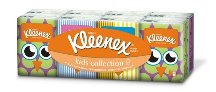 Kleenex dečije papirne maramice pakovanje 8 x 7 komada ( 2080094 )