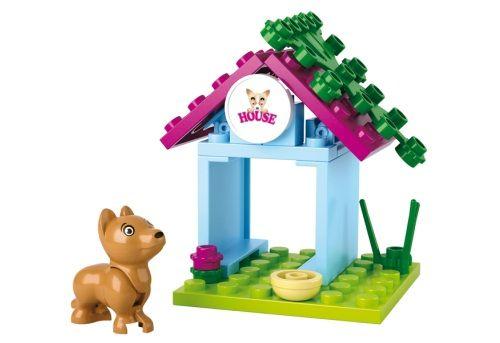 Sluban kocke kućica za pse 23 kom ( 6270830 )