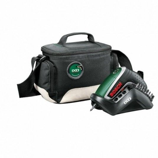 Bosch IXO IV akumulatorski odvrtač šrafilica 3.6V + multifunkcijska torbica ( 0603981026 )