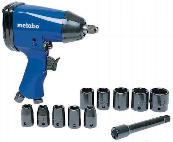 Metabo pneumatski zavrtač SR 120 + set gedora ( 0901006750 )