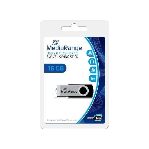 MediaRange 16GB FLASH DRIVE 2.0 HIGHSPEED MR910 USB Flesh Memorija ( UFMR910/Z )