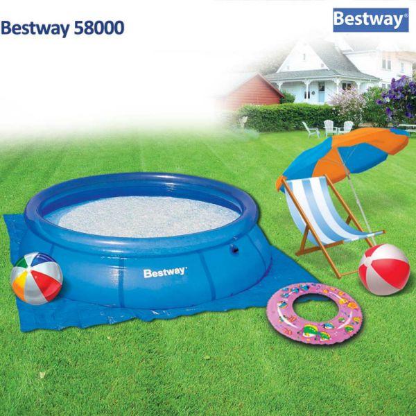 Bestway 58000 Prostirka za bazen 274x274cm