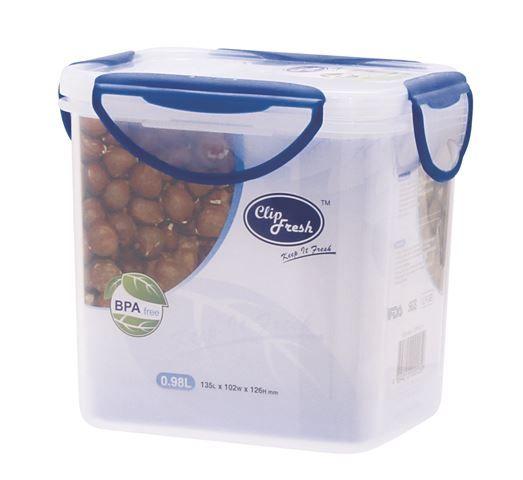 Clip Fresh Posuda za hranu 0,98 L sa sistemom zatvaranja poklopca ( 0182015 )
