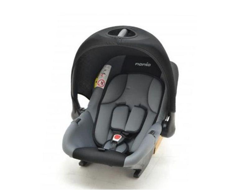 Nania Baby Ride Basic auto sedište 0-13 kg 0+ Rock Grey tamno siva ( 5120949 )