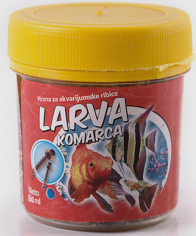 Nutri pet larva komaraca hrana za ribice 20ml ( 1080 )