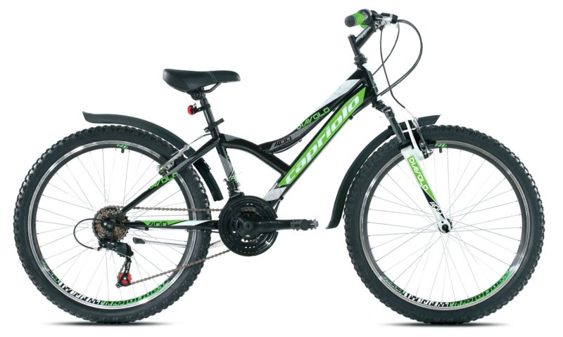 Capriolo Diavolo 400 FS bicikl 24/18 zeleni 13 Ht ( 916305-13 )