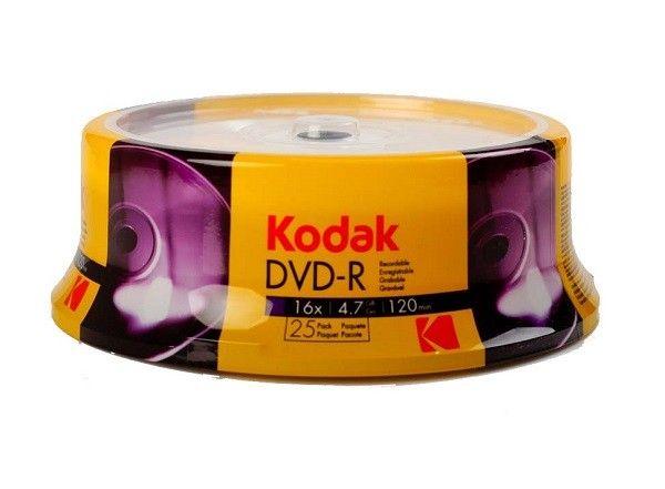Kodak DVD+R 4.7GB 120MIN 16X 25 komada ( 556+KO/Z )