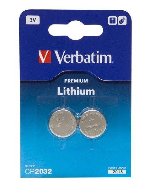 Verbatim CR2032 3V lithium coin baterije 2 kom ( CR2032V/Z )