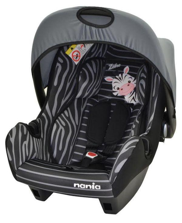 Nania auto sediste Beone 0+ (0-13kg) Zebre ( 5120668 )