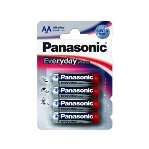 Panasonic LR6EPS/4BP -AA 4kom 3+1F Alkaline Every baterije ( 02390738 )