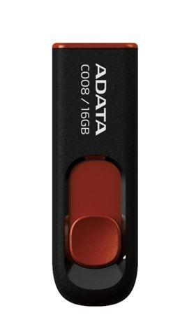 AData  16GB AC008 USB flash memorija crna ( AC008-16G-RKD )
