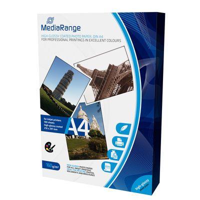 MediaRange MRINK105 A4 foto papir high glossy coated 160g 100 lista ( FP160MR/Z )