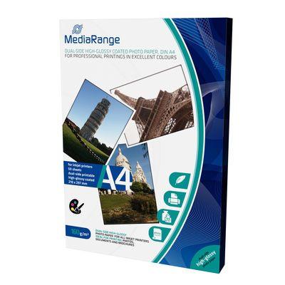 MediaRange MRINK108 A4 foto papir dual side high glossy coated 160g 50 lista ( FP160MRD/Z )