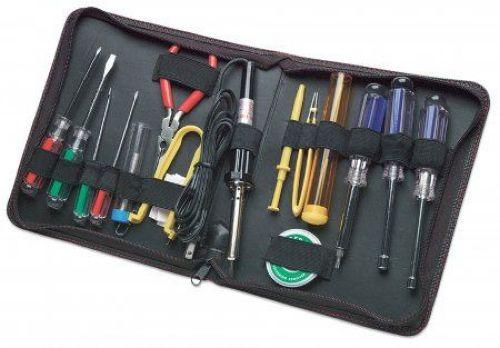 Intellinet MH tool kit technician 17pcs black ( 0538006 )