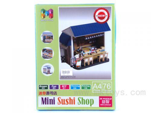 3D puzzle Mini Sushi shop ( 19/71968 )
