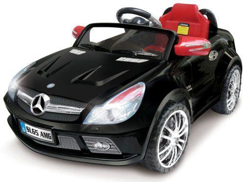 Mercedes SL65 AMG Auto na akumulator - crni ( 11/7999R/C )