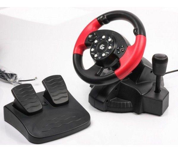 Gembird STR-MV-02 volan sa pedalama za PS2,PS3,PC ( JOYMV02 )