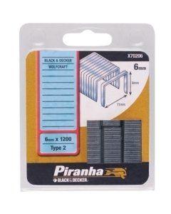 Piranha X70206 Klamerice BD 6mm x 1200