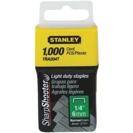 Stanley 1-TRA204T Klamerice tip A 6mm 1000kom