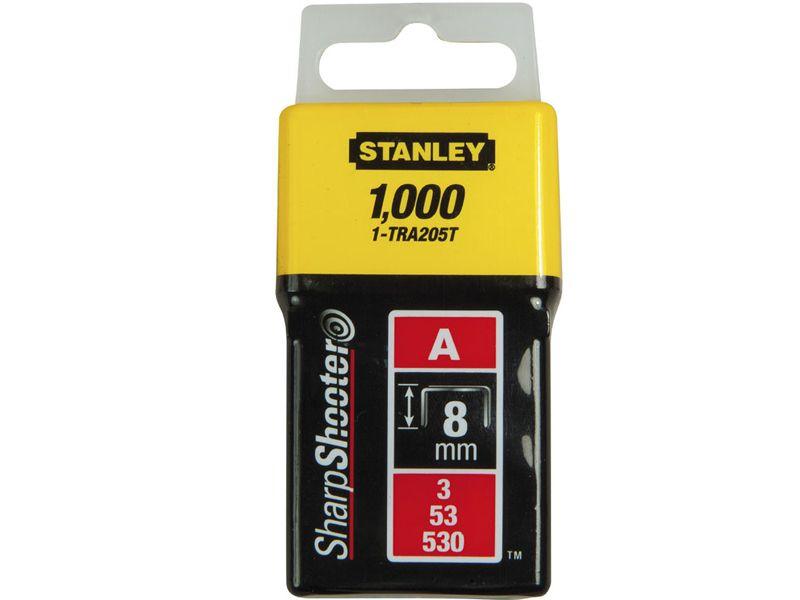 Stanley 1-TRA205T Klamerice tip A 8mm 1000kom
