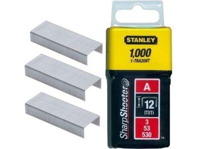 Stanley 1-TRA208T Klamerice tip A 12mm 1000kom