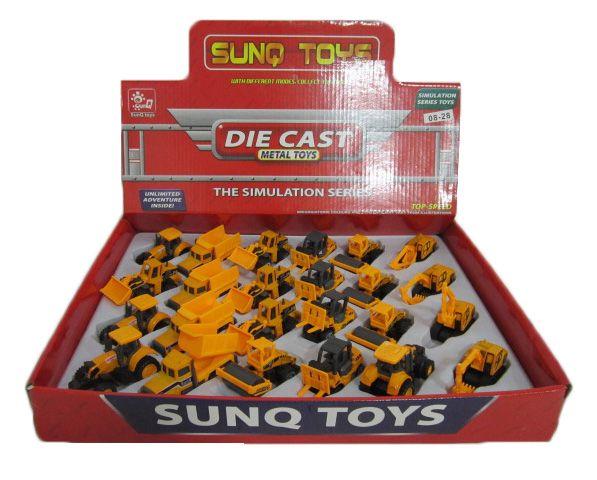 Hk Mini igračka građevinsko vozilo-die cast, 24 komada ( 6150020 )