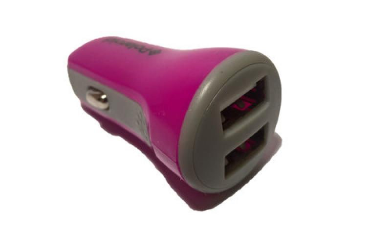 Polaroid Auto punjač 2USB 2.1A pink ( 222681 )