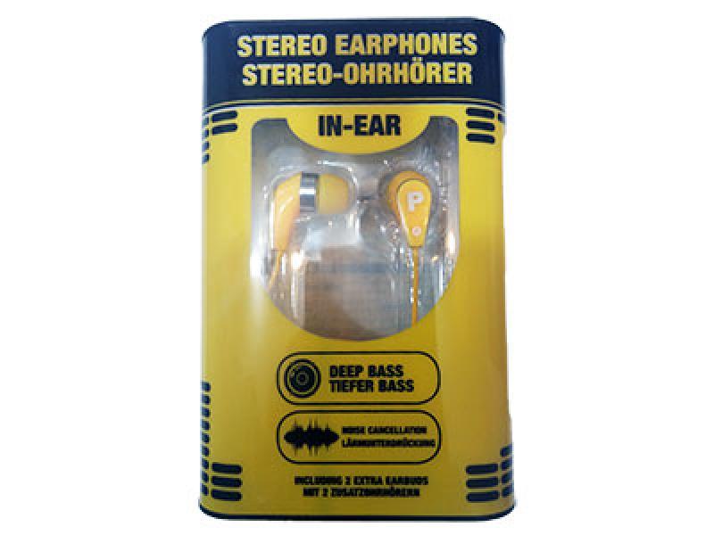Slušalice stereo 54068 žute ( 540687 )