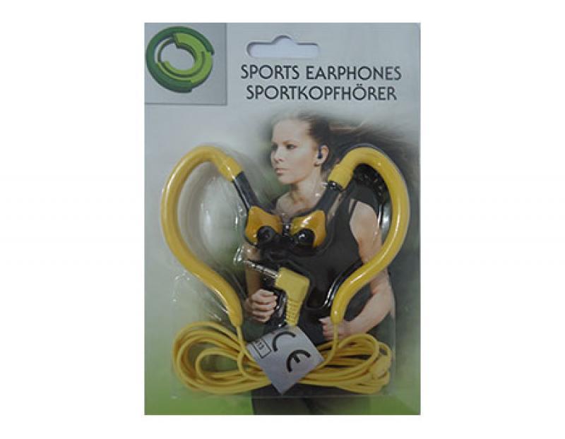 Slušalice sport 51529 žute ( 515291 )