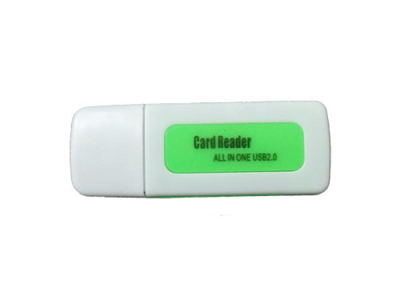 Čitač kartica CR-404 zeleni ( 10-109 )