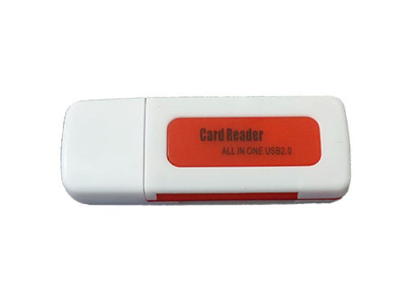 Čitač kartica CR-404 crveni ( 10-111 )