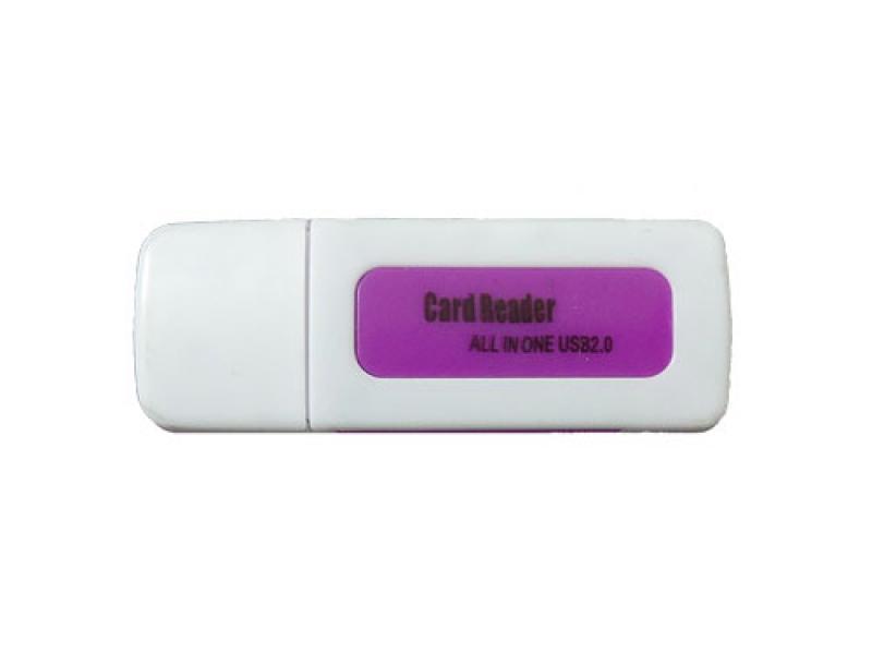 Čitač kartica CR-404 ljubičasti ( 10-113 )