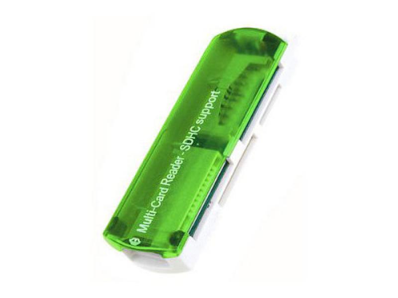 Čitač kartica CR-407 zeleni ( 10-115 )