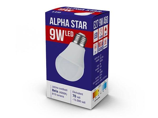 Alpha Star E27 9W 810LM 4.000K 15.000H sijalica ( E279ASD/Z )