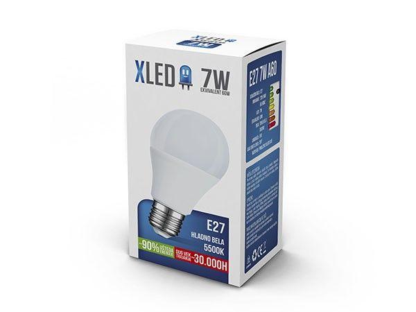 Xled E27 7W 490LM 5.500K 30000H sijalica ( E277XC/Z )