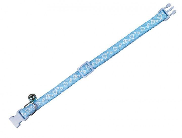 Nobby 78066-06 Ogrlica za mačke Srce plava ( NB78066-06 )