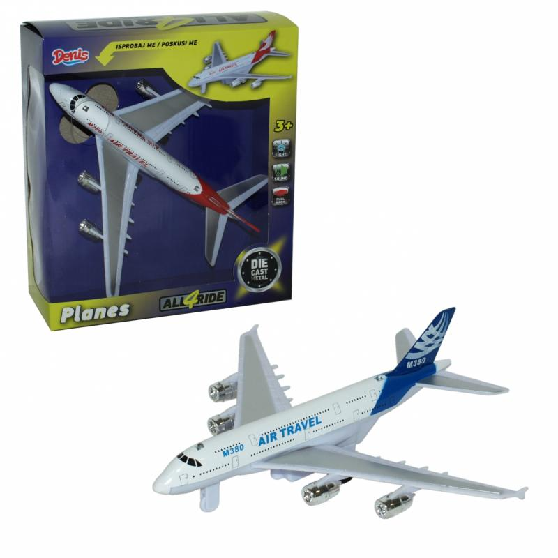Avion Die Cast na povlačenje ( 38-932000 )
