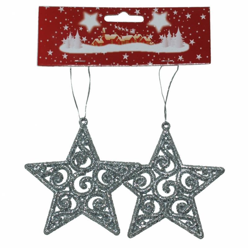 Božićna Zvezda 10 cm 2kom ( 40-601000 )