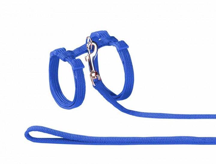 Nobby 72218-06 Set povodac i am za mace najlon plavi ( NB72218-06 )