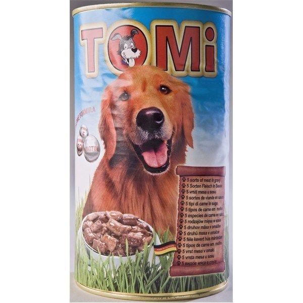 Tomi hrana za pse pet vrsta mesa 1200g ( TM43021 )