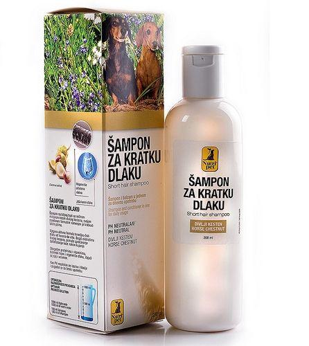 Nutripet Šampon za kratku dlaku 200ml ( NP59515 )